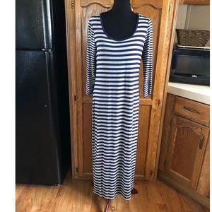 Calvin Klein Knit Column Maxi Dress Size 10